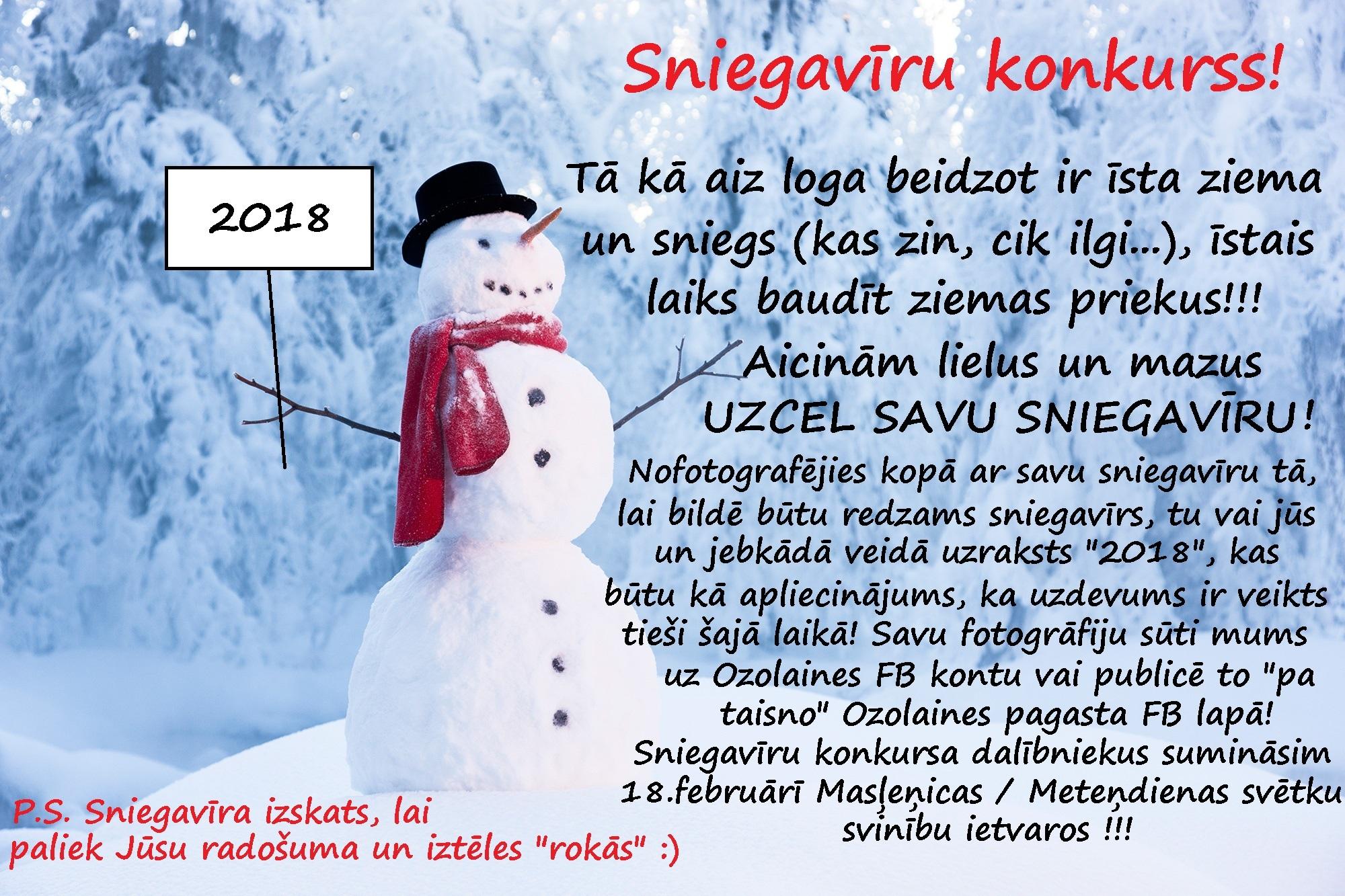 Sniegavīru  konkurss