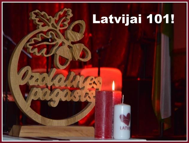 Latvijai 101!