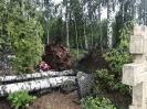 Stiprs vējš nopoista Bekšu kapsētu!_8
